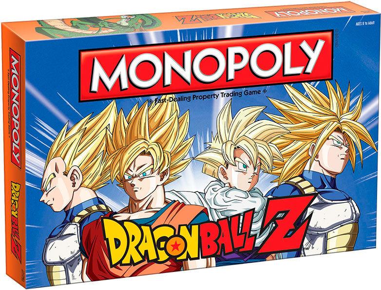 Dragon Monopoly Dragon Ball Z Brettspill