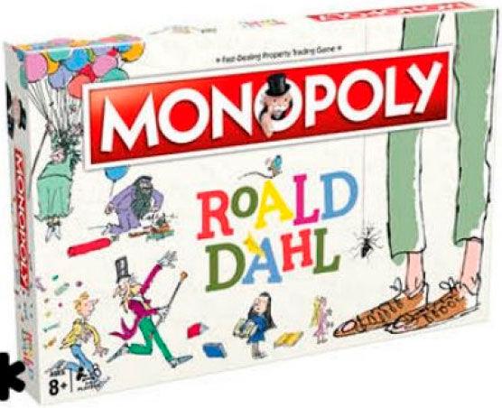 Monopoly Roald Dahl Brettspill