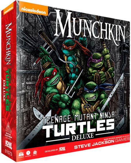 Mutant Munchkin TMNT Deluxe Kortspill Teenage Mutant Ninja Turtles