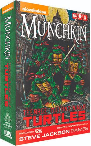 Mutant Munchkin Teenage Mutant Ninja Turtles