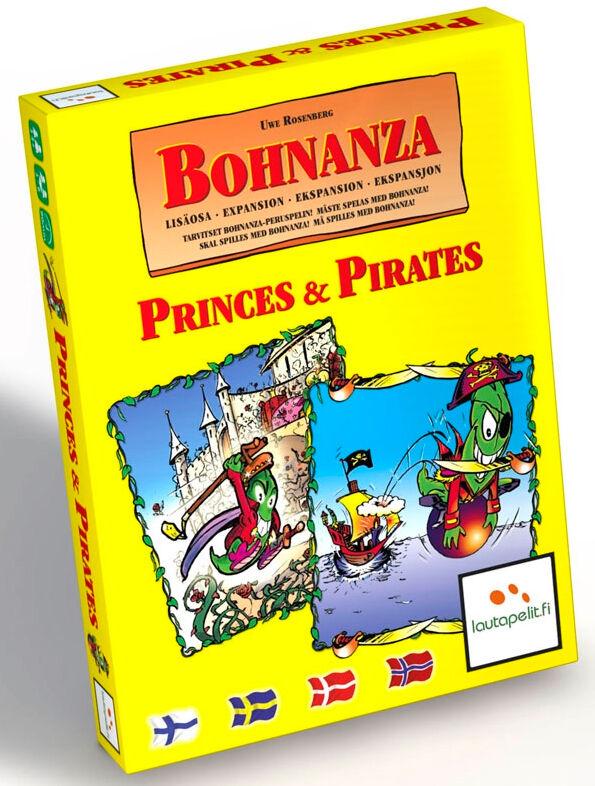 Bohnanza Princes and Pirates Kortspill Norsk 2 stk Frittstående Bohnanza spill