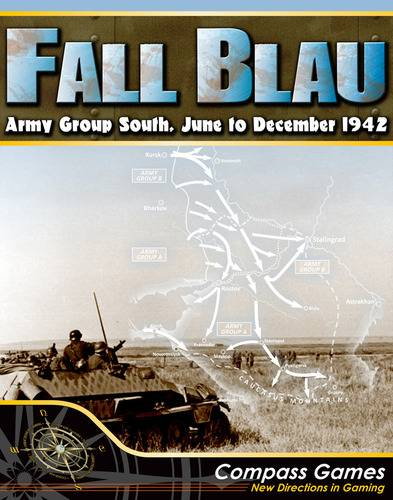 Fall Blau Army Ground South Brettspill June-December 1942