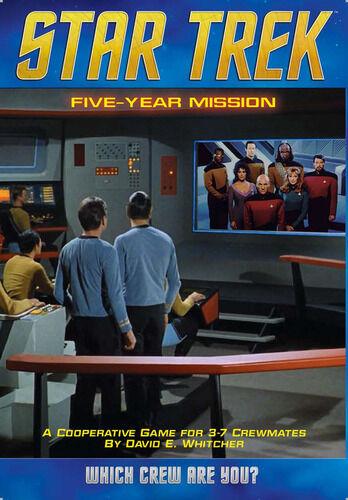 Mission Star Trek Five Year Mission Brettspill
