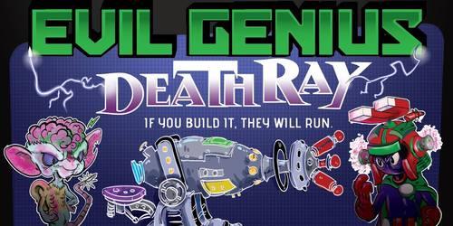 Genius Evil Genius Deathray Kortspill