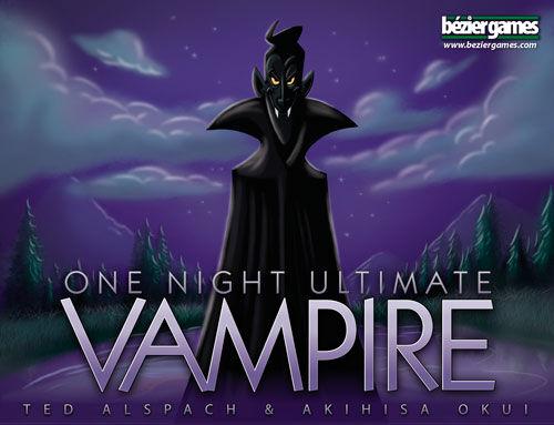 One Night Ultimate Vampire Kortspill Frittstående utvidelse/expansion
