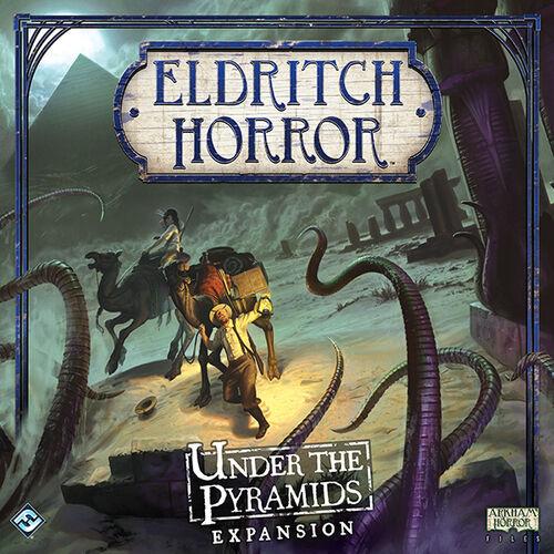 Eldritch Horror Under the Pyramids Exp Utvidelse til Eldritch Horror Brettspill