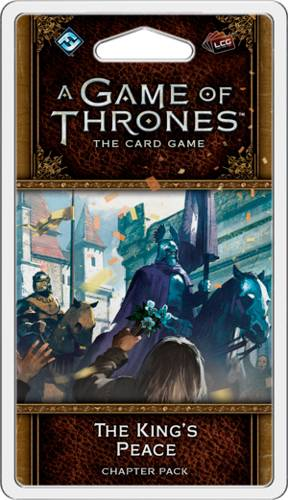 Game of Thrones TCG Kings Peace Exp Utvidelse til Game of Thrones Card Game