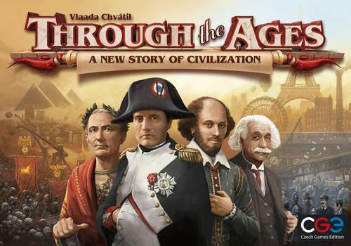 Through the Ages A New Story Brettspill A New Story of Civilization