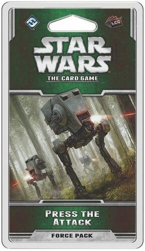 Star Wars TCG Press the Attack Expansion Utvidelse til Star Wars The Card Game