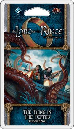 LotR TCG The Thing in the Depths Exp Lord of the Rings The Card Game