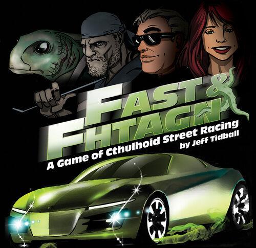 Fast and Fhtagn Kortspill Et bilspill i Call of Cthulhu-universet