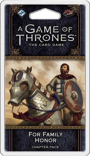 Game of Thrones TCG For Family Honor Exp Utvidelse til Game of Thrones Card Game