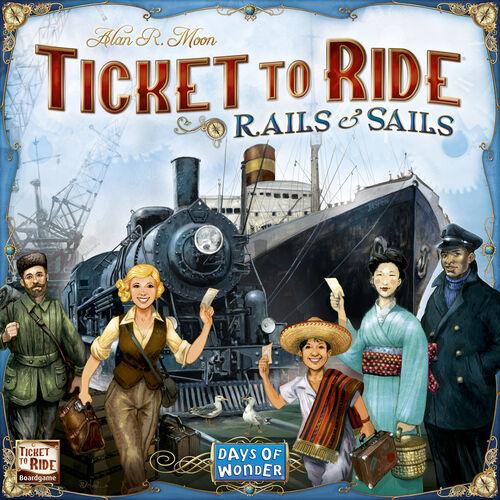 Ticket to Ride Rails & Sails Brettspill Frittstående spill