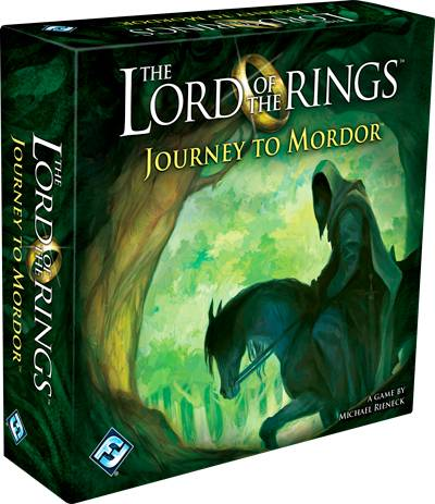 Lord of the Rings Terningspill Journey to Mordor