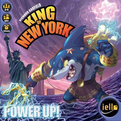 King of New York Power Up Expansion Utvidelse til King of New York