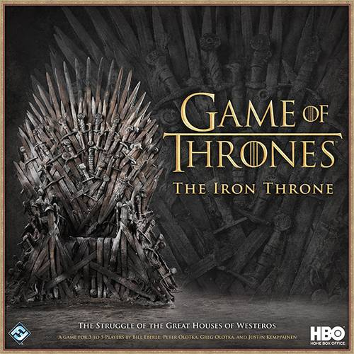 Game of Thrones Iron Throne Brettspill