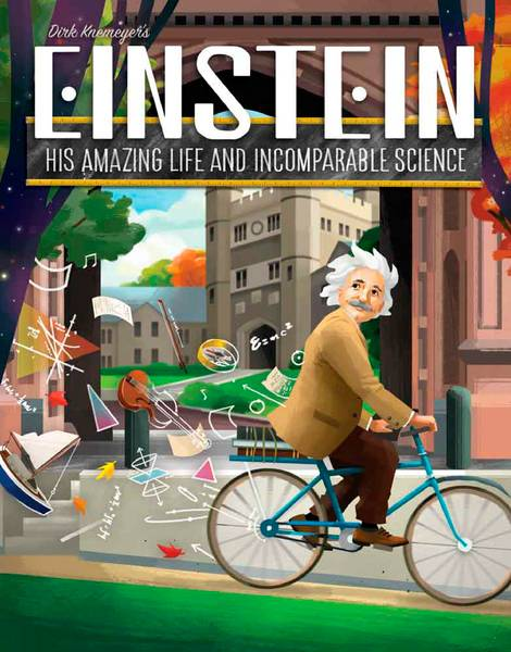 Einstein Brettspill His Amazing Life & Incomparable Science