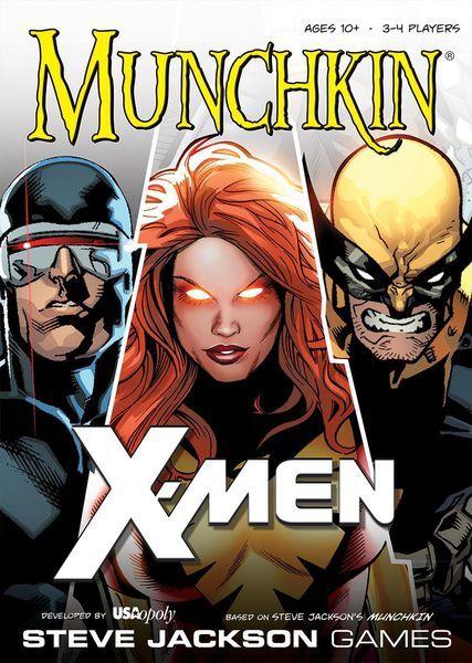 Munchkin X-Men Kortspill