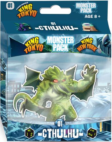 King of Tokyo Monster Pack Cthulhu Utvidelse til King of Tokyo