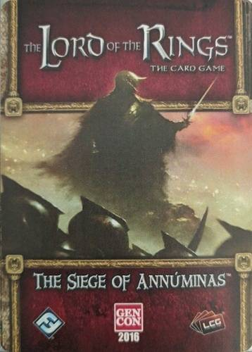 LotR TCG The Siege of Annuminas Exp Lord of the Rings The Card Game
