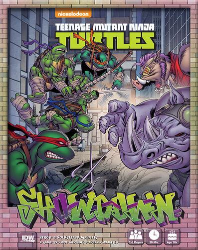 Mutant TMNT Showdown Brettspill Teenage Mutant Ninja Turtles