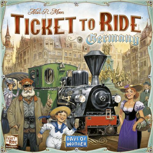 Ticket to Ride Germany Brettspill Tyskland