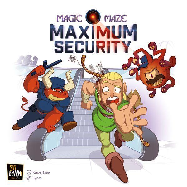 Maze Magic Maze Maximum Security Expansion Utvidelse til Magic Maze