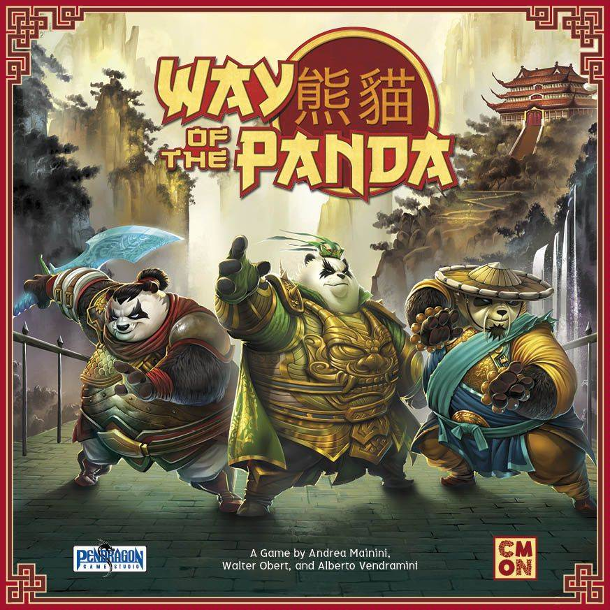 Panda Way of the Panda Brettspill