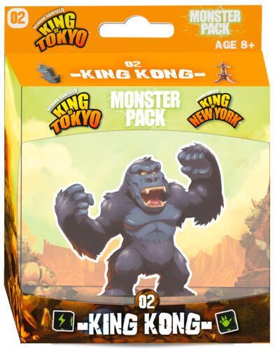 King of Tokyo Monster Pack 2 King Kong Utvidelse til King of Tokyo