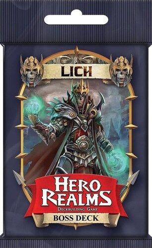 Boss Hero Realms Lich Boss Deck Expansion Utvidelse til Hero Realms
