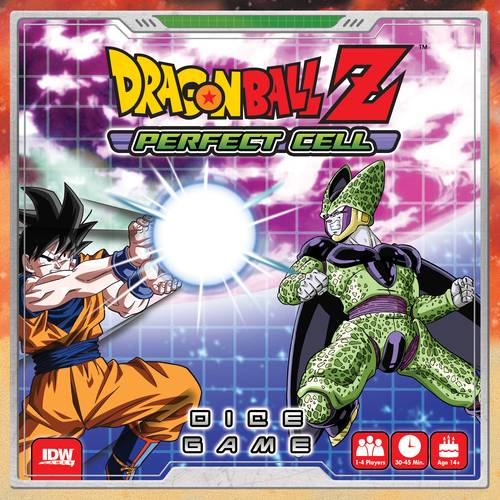Dragon Ball Z Perfect Cell Terningspill