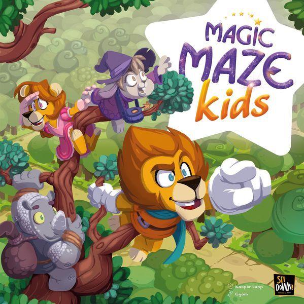 Maze Magic Maze Kids Brettspill
