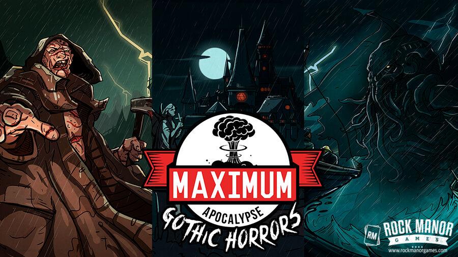 Maximum Apocalypse Gothic Horrors Exp Utvidelse til Maximum Apocalypse