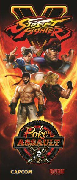 Street Fighter V Poker Assault Kortspill