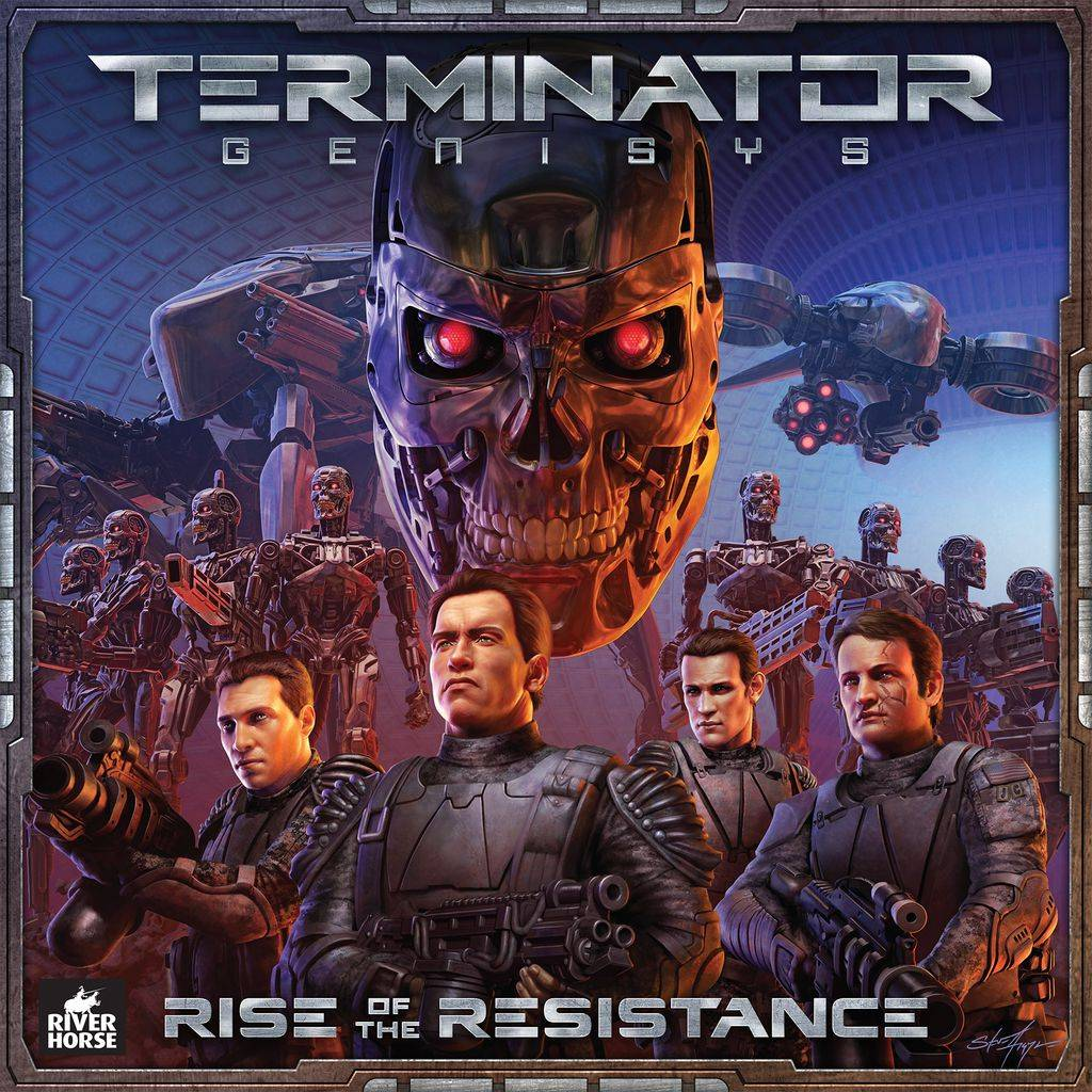 Terminator Genisys Brettspill Rise of the Resistance