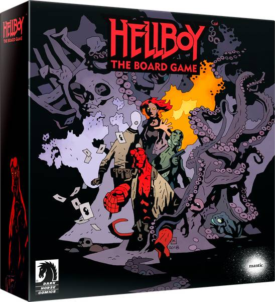 Hellboy The Board Game Brettspill