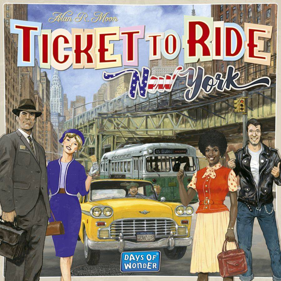Ticket To Ride New York Brettspill Norsk utgave