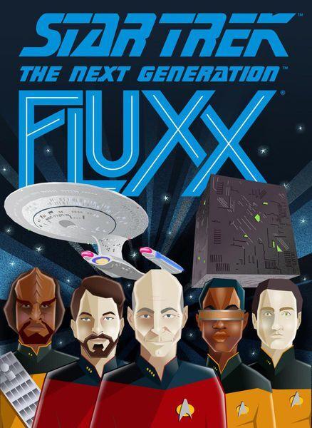 Fluxx Star Trek The Next Generation Kortspill