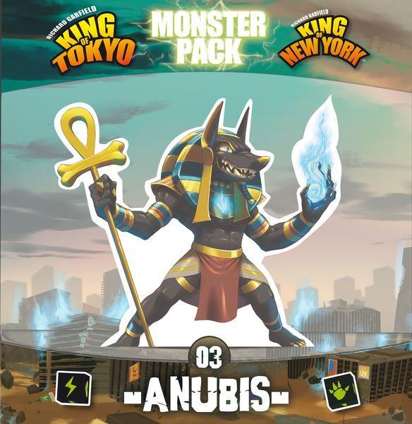 King of Tokyo Monster Pack Anubis Exp Utvidelse til King of Tokyo