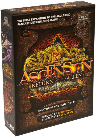 Ascension Return of the Fallen Kortspill Third Edition - 2018