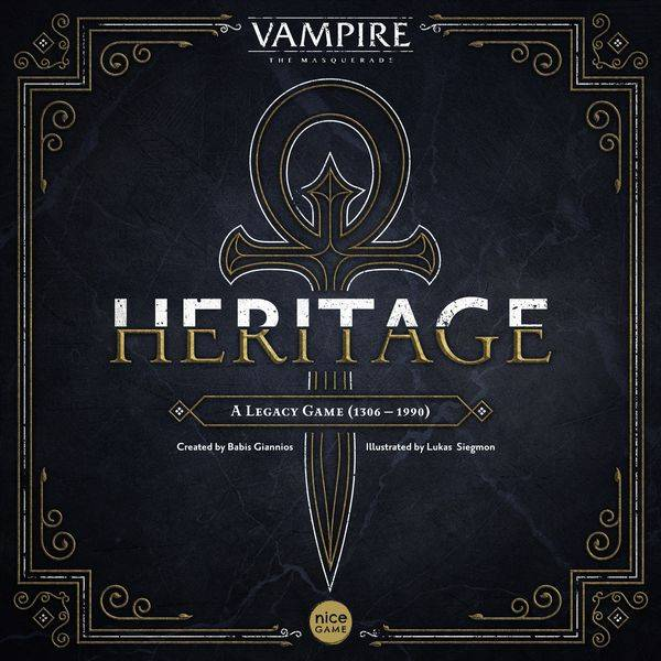 Vampire Masquerade Heritage Brettspill Vampire The Masquerade