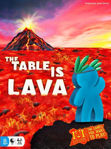Lava The Table is Lava Brettspill