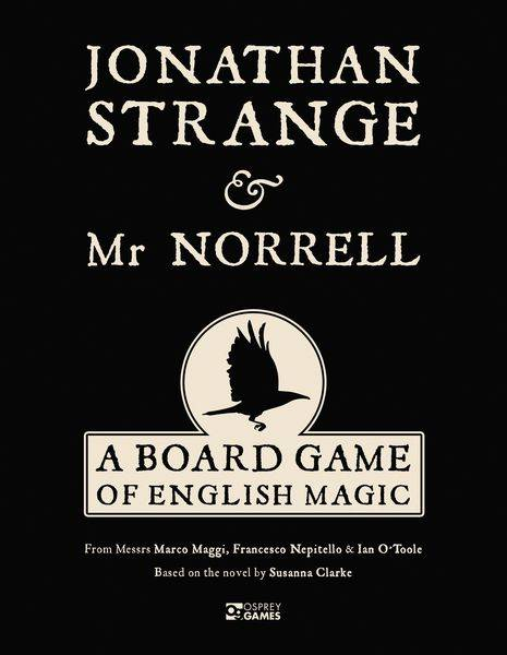 Jonathan Strange & Mr Norrell Brettspill A Board Game of English Magic