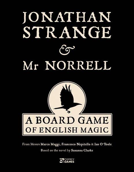 Jonathan Strange & Mr Norrell Brettspill A Board Game of English Magic