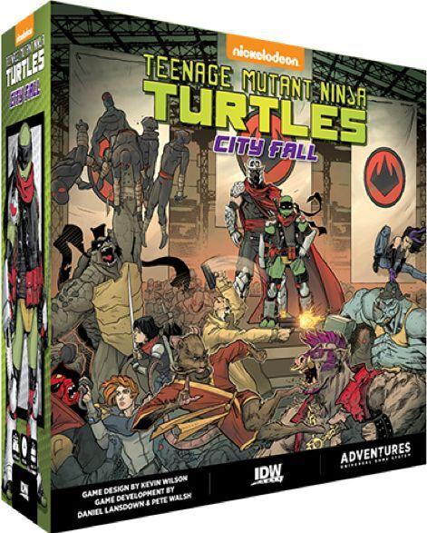 Mutant TMNT City Fall Brettspill Teenage Mutant Ninja Turtles