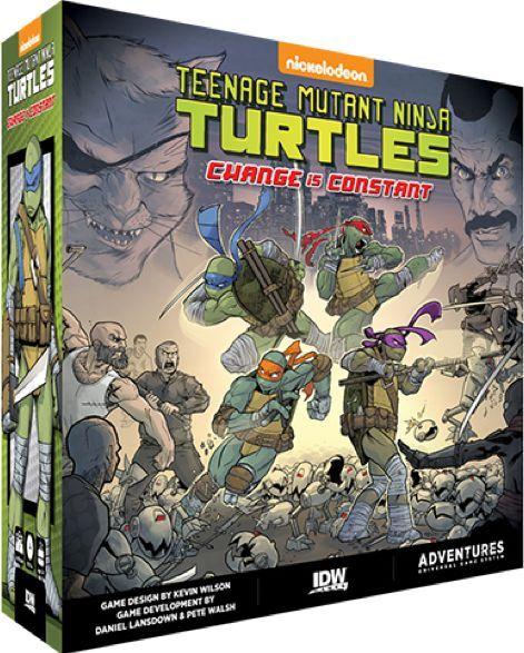 Mutant TMNT Change Is Constant Brettspill Teenage Mutant Ninja Turtles