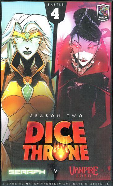 Dice Throne Season 2 Battle Box 4 Seraph vs Vampire Lord