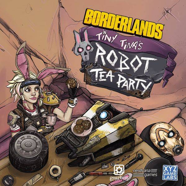 Borderlands Tiny Tina Robot Brettspill Tiny Tinas Robot Tea Party