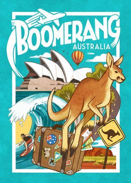 Boomerang Australia Brettspill