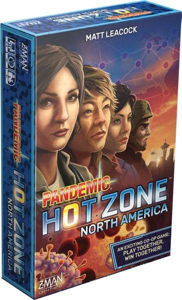 Zone Pandemic Hot Zone Norsk Brettspill North America